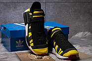 Кроссовки мужские 14923, Adidas Pharrell Williams, черные ( размер 42 - 27,0см ), фото 3