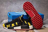 Кроссовки мужские 14923, Adidas Pharrell Williams, черные ( размер 42 - 27,0см ), фото 4
