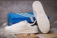 Кроссовки мужские 14981, Adidas Stan Smith, белые ( размер 44 - 28,5см ), фото 4