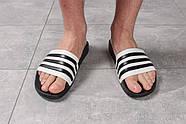 Шлепанцы мужские 16282, Adidas, черные ( размер 44 - 28,7см ), фото 2