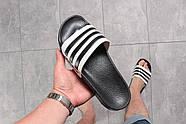 Шлепанцы мужские 16282, Adidas, черные ( размер 44 - 28,7см ), фото 3