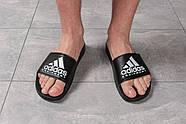 Шлепанцы мужские 16292, Adidas Equipment, черные ( размер 44 - 28,4см ), фото 2