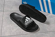 Шлепанцы мужские 16292, Adidas Equipment, черные ( размер 44 - 28,4см ), фото 5