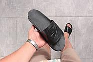 Шлепанцы мужские 16341, Nike, черные ( размер 41 - 27,0см ), фото 5