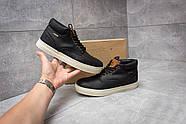 Зимние мужские ботинки 30112, Timberland Groveton, черные ( размер 41 - 25,9см ), фото 2