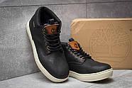 Зимние мужские ботинки 30112, Timberland Groveton, черные ( размер 41 - 25,9см ), фото 3