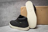 Зимние мужские ботинки 30112, Timberland Groveton, черные ( размер 41 - 25,9см ), фото 4