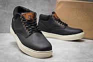 Зимние мужские ботинки 30112, Timberland Groveton, черные ( размер 41 - 25,9см ), фото 5