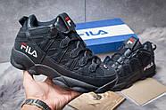 Зимние мужские кроссовки 30462, Fila Spaghetti, темно-синие ( размер 41 - 26,0см ), фото 2