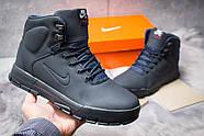Зимние мужские ботинки 30521, Nike LunRidge, темно-синие ( размер 44 - 28,6см ), фото 2