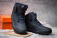Зимние мужские ботинки 30521, Nike LunRidge, темно-синие ( размер 44 - 28,6см ), фото 3