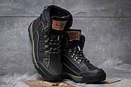Зимние мужские ботинки 30641, Switzerland Swiss, черные ( размер 41 - 27,0см ), фото 3