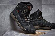 Зимние мужские ботинки 30641, Switzerland Swiss, черные ( размер 41 - 27,0см ), фото 5