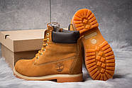 Зимние женские ботинки 30661, Timberland 6 Premium Boot, рыжие ( размер 36 - 24,0см ), фото 4