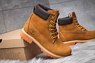 Зимние женские ботинки 30661, Timberland 6 Premium Boot, рыжие ( размер 36 - 24,0см ), фото 5