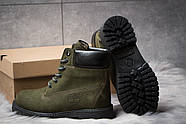 Зимние женские ботинки 30662, Timberland 6 Premium Boot, хаки ( размер 36 - 24,0см ), фото 4