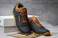 Зимние мужские ботинки 30691, Columbia Track II, темно-синие ( размер 40 - 26,6см ), фото 3