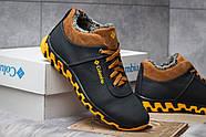 Зимние мужские ботинки 30691, Columbia Track II, темно-синие ( размер 40 - 26,6см ), фото 5