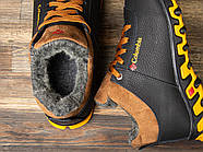 Зимние мужские ботинки 30692, Columbia Track II, черные ( размер 42 - 28,0см ), фото 5