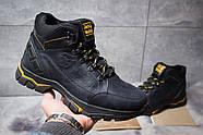 Зимние мужские ботинки 30942, Jack Wolfskin, темно-синие ( размер 40 - 26,7см ), фото 2