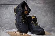 Зимние мужские ботинки 30942, Jack Wolfskin, темно-синие ( размер 40 - 26,7см ), фото 3