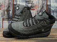 Зимние мужские кроссовки 30973, Supo Sport, темно-серые ( размер 43 - 28,0см ), фото 3