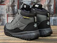 Зимние мужские кроссовки 30973, Supo Sport, темно-серые ( размер 43 - 28,0см ), фото 4