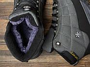 Зимние мужские кроссовки 30973, Supo Sport, темно-серые ( размер 43 - 28,0см ), фото 5