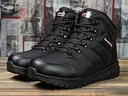 Зимние мужские кроссовки 30981, Kajila Fashion Sport, черные ( размер 41 - 26,7см ), фото 2