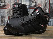 Зимние мужские кроссовки 30981, Kajila Fashion Sport, черные ( размер 41 - 26,7см ), фото 3