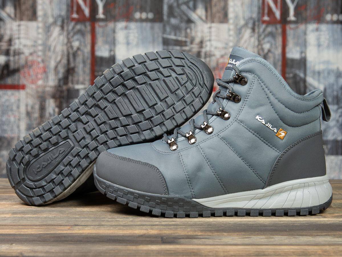 Зимние мужские кроссовки 30982, Kajila Fashion Sport, темно-серые ( размер 41 - 26,7см )