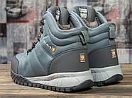 Зимние мужские кроссовки 30982, Kajila Fashion Sport, темно-серые ( размер 41 - 26,7см ), фото 4