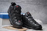 Зимние мужские кроссовки 30461, Fila Spaghetti, черные ( размер 42 - 26,5см ), фото 3