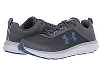 Кроссовки/Кеды Under Armour UA Charged Assert 8 Pitch Gray/White/Hushed Blue, фото 1