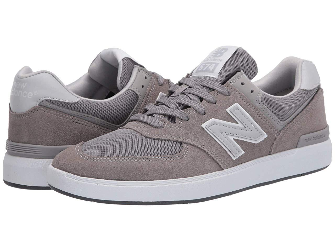 Кроссовки/Кеды New Balance Numeric AM574 Grey/Grey