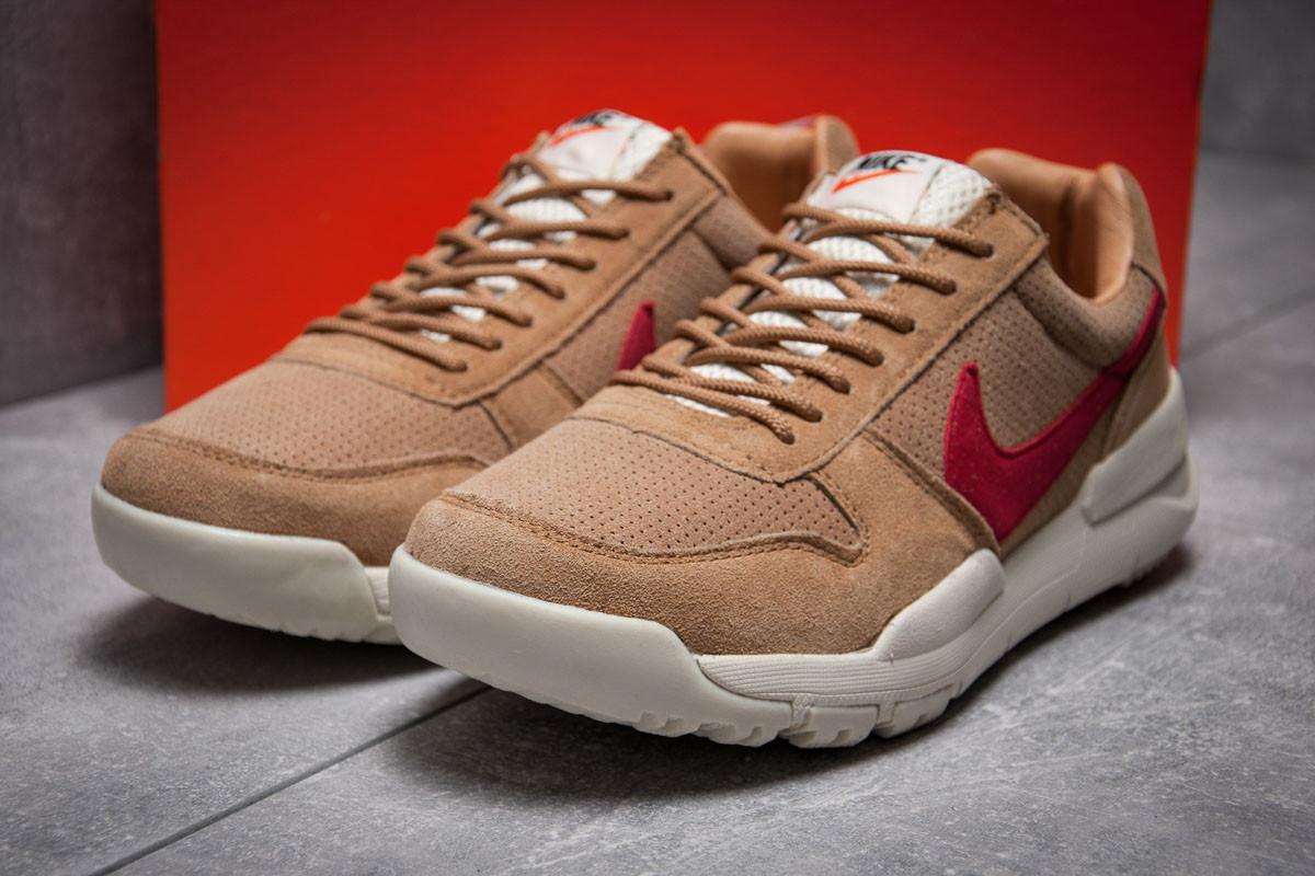 Кроссовки мужские 13154, Nike Apparel, коричневые ( размер 41 - 26,0см )