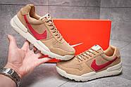 Кроссовки мужские 13154, Nike Apparel, коричневые ( размер 41 - 26,0см ), фото 2