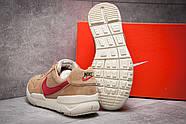 Кроссовки мужские 13154, Nike Apparel, коричневые ( размер 41 - 26,0см ), фото 4