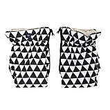 Муфта Womar (Zaffiro) MUF 2in1 geo black&white limited (чорно-білий ромб), фото 2