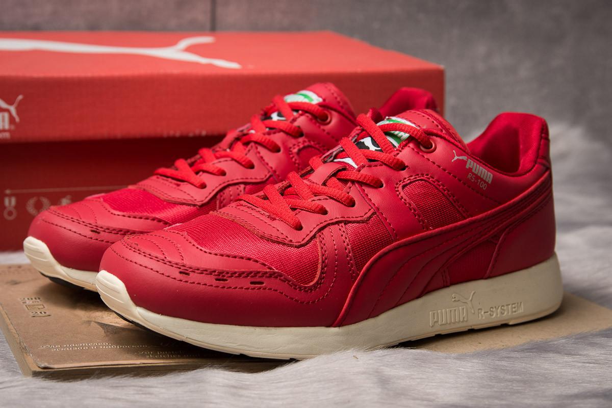 Кроссовки мужские 14935, Puma Roland RS-100, красные ( размер 42 - 26,5см )