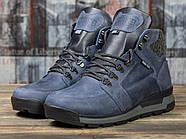 Зимние мужские ботинки 31051, Diesel Denim Division, темно-синие ( размер 40 - 26,2см ), фото 2