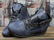 Зимние мужские ботинки 31051, Diesel Denim Division, темно-синие ( размер 40 - 26,2см ), фото 3