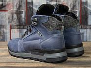 Зимние мужские ботинки 31051, Diesel Denim Division, темно-синие ( размер 40 - 26,2см ), фото 4