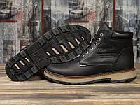 Зимние мужские ботинки 31091, Wrangler New Trendf, черные ( размер 40 - 26,5см )