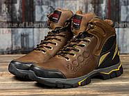 Зимние мужские ботинки 31171, Ecco Natural Motion, коричневые ( размер 40 - 26,5см ), фото 2