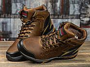 Зимние мужские ботинки 31171, Ecco Natural Motion, коричневые ( размер 40 - 26,5см ), фото 3