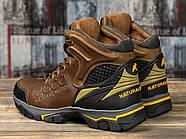 Зимние мужские ботинки 31171, Ecco Natural Motion, коричневые ( размер 40 - 26,5см ), фото 4
