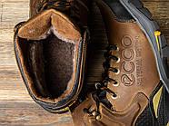 Зимние мужские ботинки 31171, Ecco Natural Motion, коричневые ( размер 40 - 26,5см ), фото 5