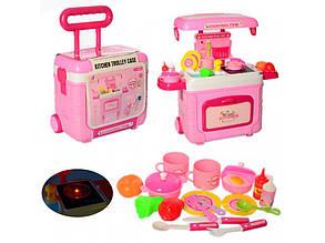Кухня 3605A в чемодане - детский игровой набор
