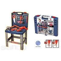 Стол мастера с инструментами. 008-21 Детский набор инструментов.